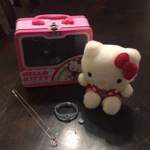 Hello Kitty jewelry bundle - in great condition!